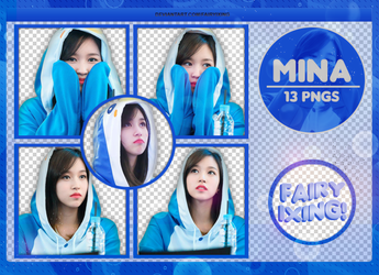 [PNG PACK #833] Mina - TWICE (161204) by fairyixing