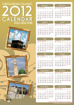 Islamic Calender 2012 by Islamic Posters by billax