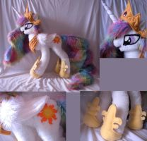 Giant Princess Celestia Plush by WhittyKitty