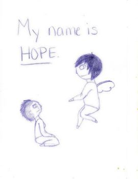 My Name is Hope by kimanimo