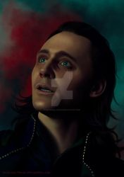Sad Loki by Katarina-Venom