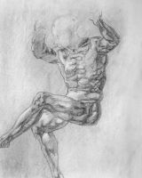 Michelangelo Study by Illusions-of-TV