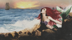 Lady Gaga as Ariel   The Little Mermaid Concept by Panchecco