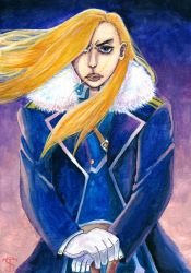 Olivier 'Ice Queen' Armstrong by Goldsturm
