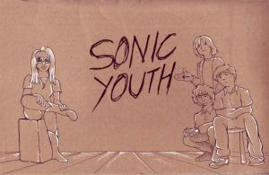 Sonic Youth by Inkendup