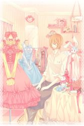 Original:Dress shop-colored by kindaseiha
