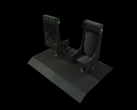 Tech Chair - GITS inspired by eRe4s3r