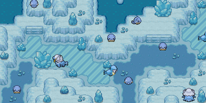Secret Santa Present #2 - Spheal in the icy cave