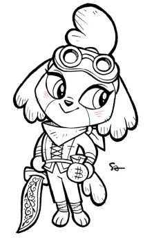 Thief Isabelle by ferretface99