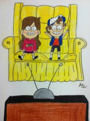 Gravity Falls by Ayame-Wolfhowl