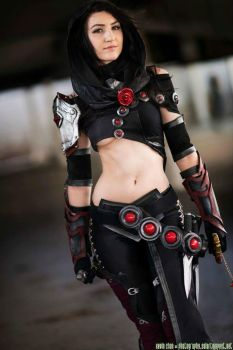Guild Wars 2 Thief by luxxlo