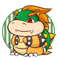 Bowser Koopa by kyupi