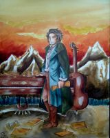 Composer Project: Ludwig van Beethoven by Livi-Livered