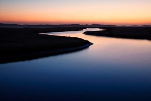 Estuary Twilight by fistfulofneurons