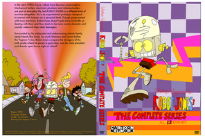 My Robot Jones Complete Series DVD cover design by SuperPanty276
