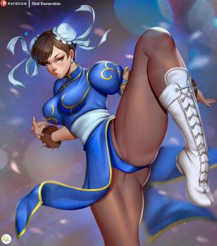 Chun-Li Fanart Street Fighter by Didi-Esmeralda
