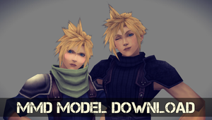 [[ FF7 || MMD ]] Cloud Models DL by KZantos