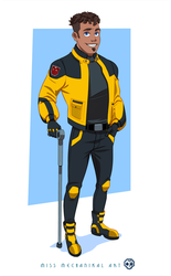 More of Human Bumblebee- Commission by JozzGc