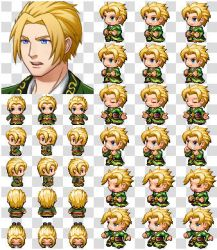 Rpg Maker MV Character Generator Parts Green Cloth by cangyu2004