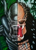 Alien VS Predator by CrystalSexyAss