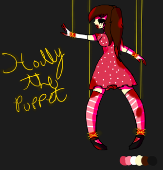 Holly The Puppet by StarlightHowler
