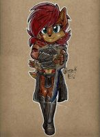 Color Practice: A Princess of Mars by Art-of-Matthew