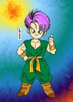 Kid Trunks, tumbs up by ChikoxChan