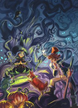 witch's soup by breath-art