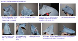 Resin Beak Tutorial (Part 1: Cutting) by Wolfbird
