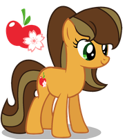 MLP Apple CJ by SpeedPaintJayvee12