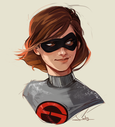 Helen Parr by lesly-oh