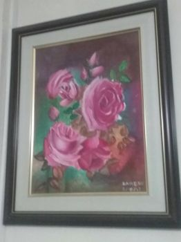 One of my paintings by ZaireneArtistic