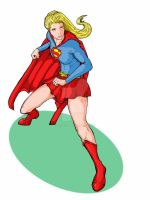 Supergirl Defensive by richards9999