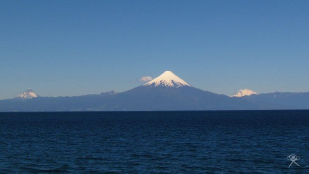 Volcanoes and Llanquihue Lake by REGGDIS