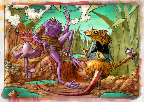 2011 - Frog and Mouse by francescocrisci