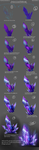 Painted Crystal Tutorial by DanSyron