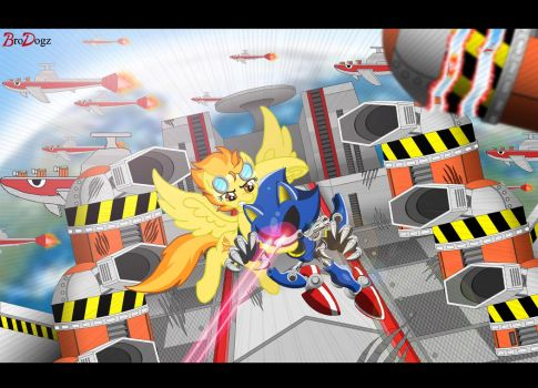 Comm: Metal Sonic vs. Spitfire - Unstoppable by BroDogz