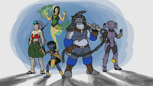 Shark Squad by ScottaHemi