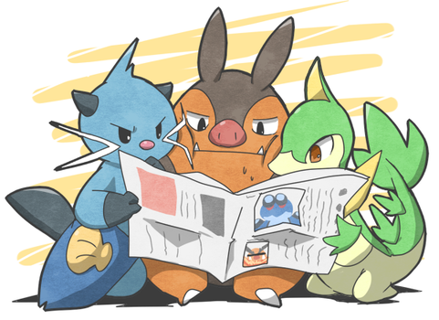 Newspaper by marshtompkd