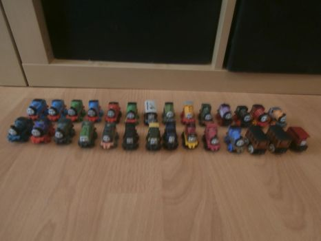 My Classic Thomas Minis Collection by Thenewmikefan21