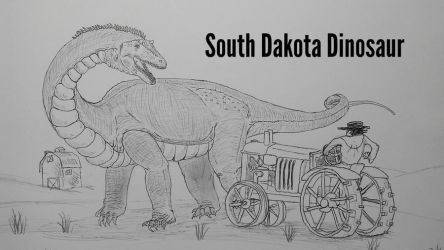 COTW#186: South Dakota Dinosaur by Trendorman