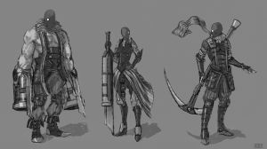 Gang concept for SUBSTRATA by robrokop