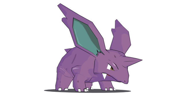 Nidorino Model by TheCrucius