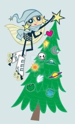X-mas in the Girlaxy by fyre-flye