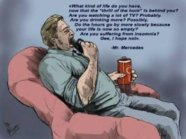 Detective Bill Hodges from Mr. Mercedes by mrinal-rai