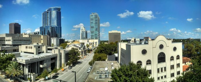 Downtown Orlando by Blinxis