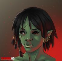 Female Orc by Tobsen85