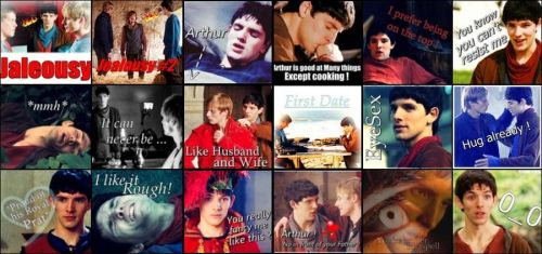 Set of Merthur icons by cynth90