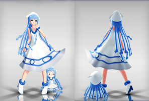 .:Ika Musume DOWNLOAD:. by Minnemi