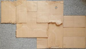 cardboard layed flat by DougFromFinance